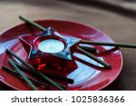 ethnic religion objects for... | Shutterstock . vector #1025836366