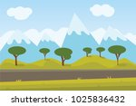enjoy your holiday travel trip... | Shutterstock .eps vector #1025836432