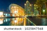 downtown  dubai  uae   1 19...   Shutterstock . vector #1025847568