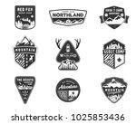 traveling  outdoor badge... | Shutterstock . vector #1025853436