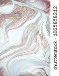 natural luxury. marbleized... | Shutterstock . vector #1025858212