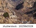 view of geghard  armenia | Shutterstock . vector #1025865328