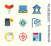 icons about lifestyle with... | Shutterstock .eps vector #1025878156