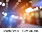 abstract blurred of festival... | Shutterstock . vector #1025903506