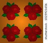 retro textile design collection....   Shutterstock .eps vector #1025921656