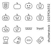 flat vector icon set   html5... | Shutterstock .eps vector #1025926552