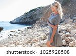 beautiful middle age blond... | Shutterstock . vector #1025928508