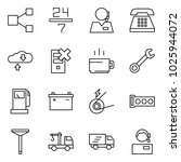 flat vector icon set   share... | Shutterstock .eps vector #1025944072
