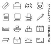 flat vector icon set   sale... | Shutterstock .eps vector #1025944102