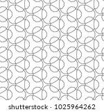 seamless ornamental vector... | Shutterstock .eps vector #1025964262