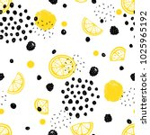 abstract seamless pattern with... | Shutterstock .eps vector #1025965192