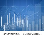 stock market chart. business... | Shutterstock . vector #1025998888