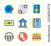 icons about lifestyle with... | Shutterstock .eps vector #1026001576
