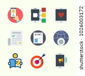 icons about lifestyle with... | Shutterstock .eps vector #1026003172