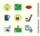 icons about lifestyle with... | Shutterstock .eps vector #1026004636