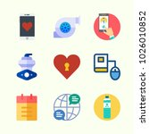 icons about lifestyle with... | Shutterstock .eps vector #1026010852