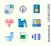 icons about lifestyle with... | Shutterstock .eps vector #1026011002