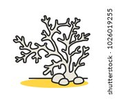 aquarium plant color icon.... | Shutterstock . vector #1026019255