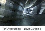 fusion reactor tokamak.... | Shutterstock . vector #1026024556