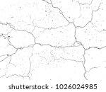 the cracks . grunge texture.... | Shutterstock .eps vector #1026024985