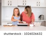 attractive blond 30s woman... | Shutterstock . vector #1026026632