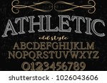 font.alphabet.script.typeface... | Shutterstock .eps vector #1026043606