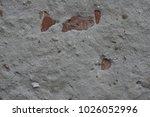 grunge concrete wall texture | Shutterstock . vector #1026052996