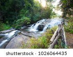 pa dok siew waterfall doi... | Shutterstock . vector #1026064435