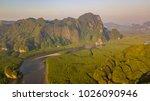 aerial view of ao thalane near... | Shutterstock . vector #1026090946