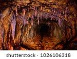 active gem mine in volodarsk ... | Shutterstock . vector #1026106318