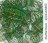 falling color figures. concept... | Shutterstock .eps vector #1026164842