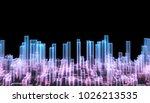 abstract background  neon... | Shutterstock . vector #1026213535