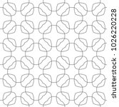 seamless ornamental vector... | Shutterstock .eps vector #1026220228