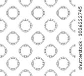 seamless vector pattern in... | Shutterstock .eps vector #1026222745