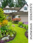 home and garden. beautiful home ... | Shutterstock . vector #1026235372