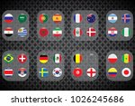 vector flags of the country.... | Shutterstock .eps vector #1026245686