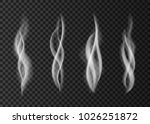 realistic smoke isolated on... | Shutterstock .eps vector #1026251872