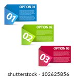 vector paper progress... | Shutterstock .eps vector #102625856