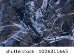 abstract painting. ink handmade ... | Shutterstock . vector #1026311665