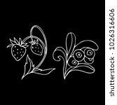 set of berries vector...   Shutterstock .eps vector #1026316606