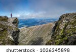 View From Ben Nevis Scotland...