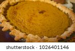 pumpkin pie apple holiday... | Shutterstock . vector #1026401146
