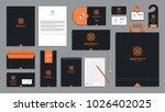 corporate identity branding... | Shutterstock .eps vector #1026402025
