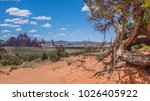 canyonlands national park... | Shutterstock . vector #1026405922