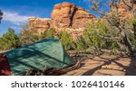 camping in canyonlands national ... | Shutterstock . vector #1026410146