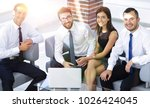 successful business team... | Shutterstock . vector #1026424045