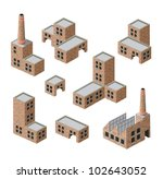 vector isometric images of... | Shutterstock .eps vector #102643052