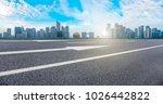 view of the skyline of hangzhou ... | Shutterstock . vector #1026442822