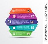 vector infographic template... | Shutterstock .eps vector #1026464392