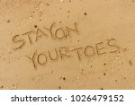 "handwriting  words ""stay on... 